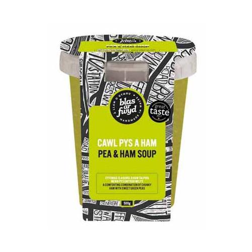 Blas ar Fwyd: BAF Fresh Soup Pea and Ham - 500ml P