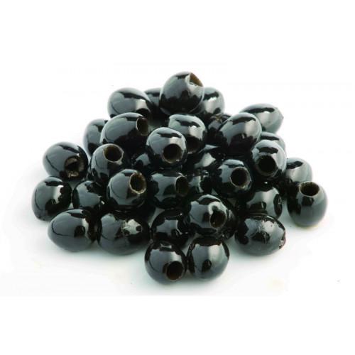 Blas ar Fwyd: Cypressa Pitted Black Olives - 340g
