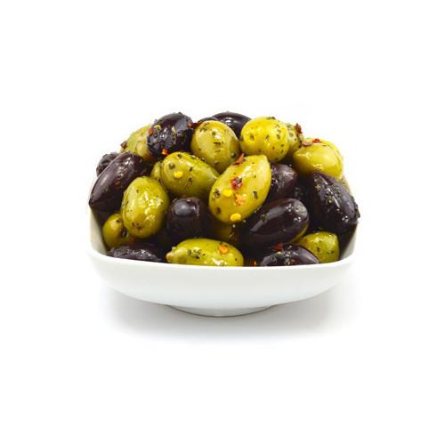 Blas ar Fwyd: Fresh Mixed Stoned in Olives Marinat