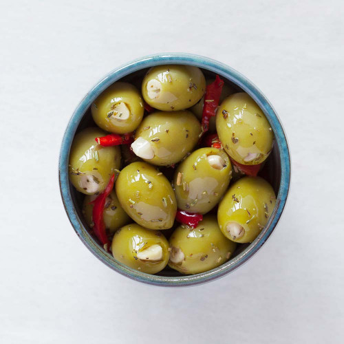 Blas ar Fwyd: Real Olive Co Stuffed and Marinated