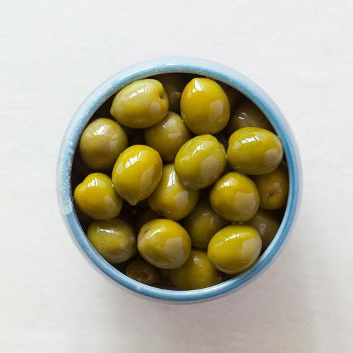 Blas ar Fwyd: Real Olive Co Whole Conellara Olives