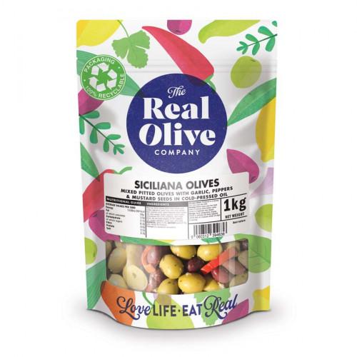 F2101505 - Real Olive Co. Marinated Siciliana Olives, 1kg Bag.jpg
