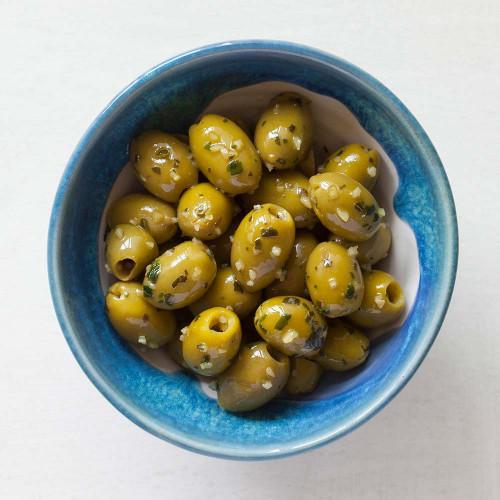 Blas ar Fwyd: Real Olive Co Marinated Orhanic Wild