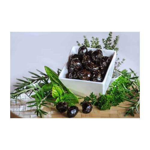 Blas ar Fwyd: Moulin de Daude Olives black with Pr