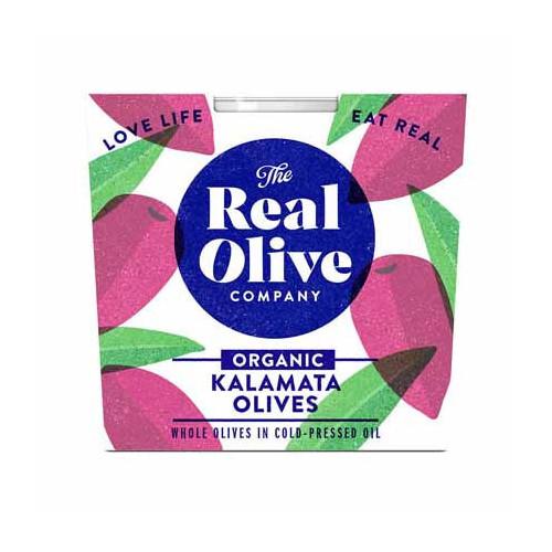 Blas ar Fwyd: Real Olive Co, Organic Kalamata, 210