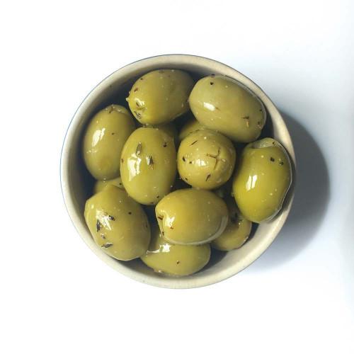 Blas ar Fwyd: Real Olive Co. Organic Limone Olives