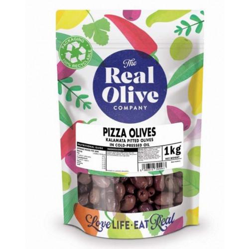 Blas ar Fwyd: Real Olive Co. Pizza Olives, 1kg Bag