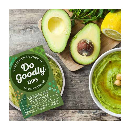 Blas ar Fwyd: Do Goodly Smashed Pea Guacamole Dip