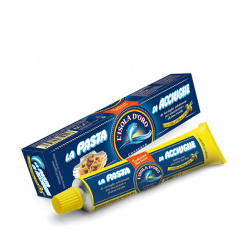 Blas ar Fwyd: Anchovy Paste in Tubes Isola d'Oro -