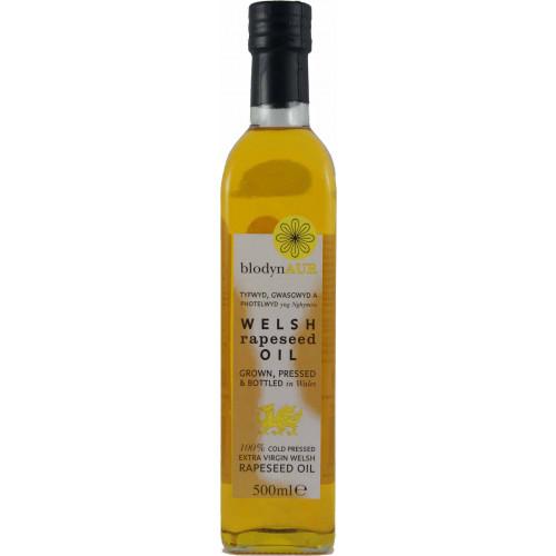 Blas ar Fwyd: Blodyn Aur, Welsh Rapeseed Oil 500ml