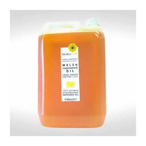 Blas ar Fwyd: Blodyn Aur Welsh Rapeseed Oil - 5L