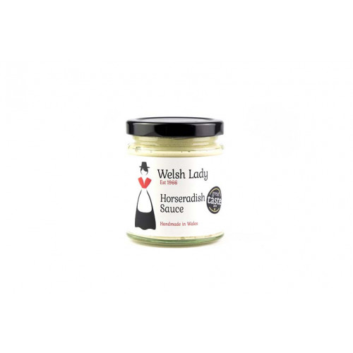 Blas ar Fwyd: Welsh Lady Hot Horseradish Sauce - 1
