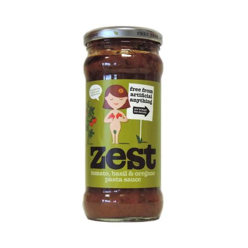 Blas ar Fwyd: Zest Basil and Oregano Pasta Sauce -
