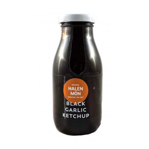Blas ar Fwyd: alen Mon Black Garlic Ketchup - 250g