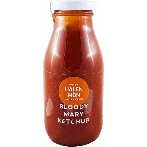 Blas ar Fwyd: Halen Mon Bloody Mary Ketchup - 250g
