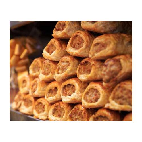 Blas ar Fwyd: Edwards o Gonwy, Sausage Rolls (Case