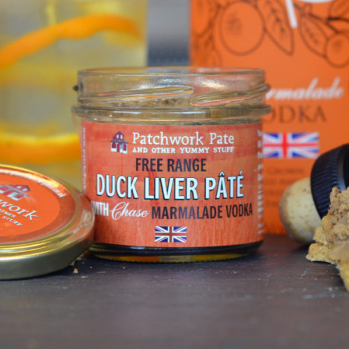 Blas ar Fwyd: Patchwork Pate Duck Liver with Chase