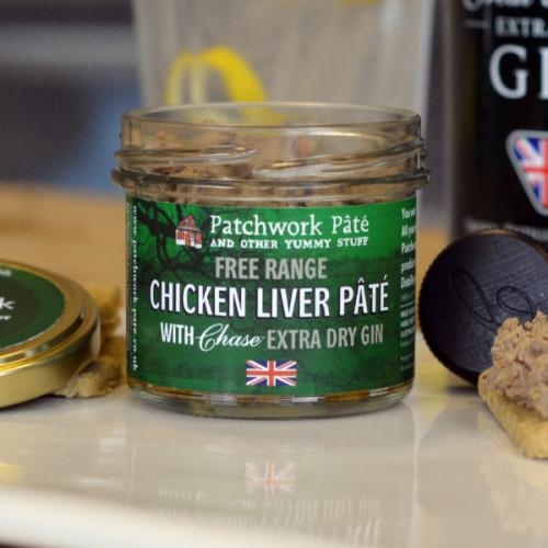 Blas ar Fwyd: Patchwork Pate Chicken Liver with Ch