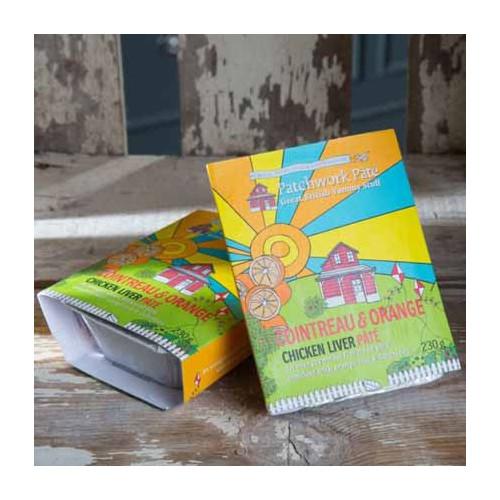 Blas ar Fwyd: Patchwork Pate Cointreau and Orange