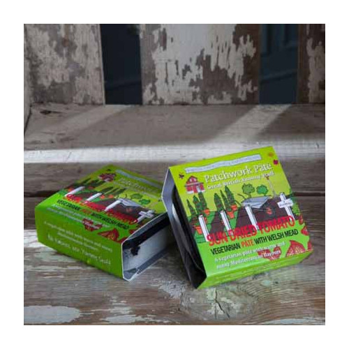 Blas ar Fwyd: Patchwork Pate Vegetarian Red Lentil