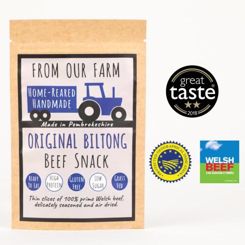Blas ar Fwyd: From Our Farm Original Flavour Bilto