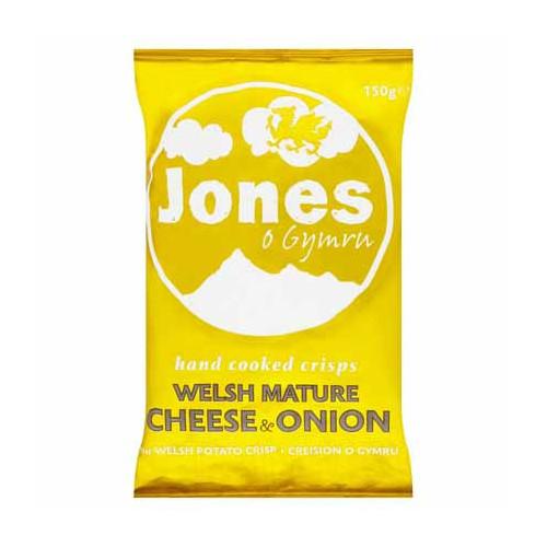 Blas ar Fwyd: Jones Crisps Welsh Mature Cheese and