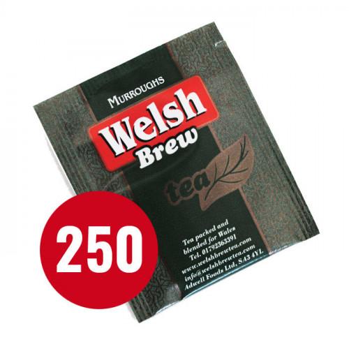 Blas ar Fwyd: Welsh Brew Teabags Laminated and Tag