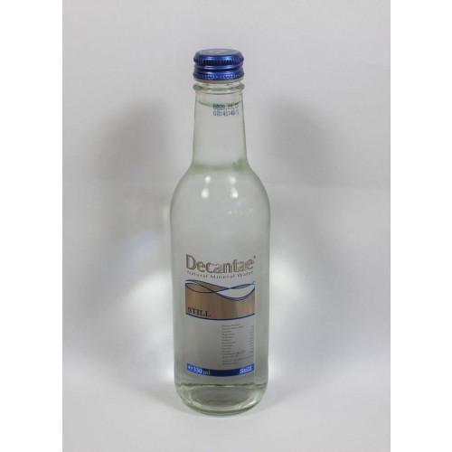 Blas ar Fwyd: Decantae Still Glass Bottle - 33cl