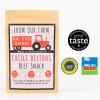 Blas ar Fwyd: From Our Farm Chilli Flavour Biltong
