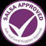 Blas ar Fwyd's SALSA Certification Badge